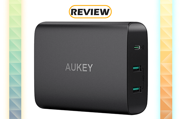 Aukey 60W USB-C Power Delivery Charging Station