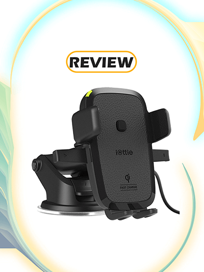 iOttie Easy One Touch Qi Wireless Fast Charge Car Mount Review