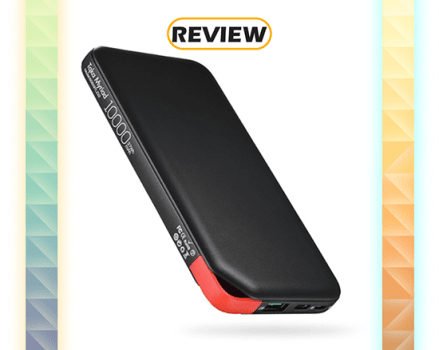 Tqka 10,000mAh Power Bank with Quick Charge and USB-C Input Review