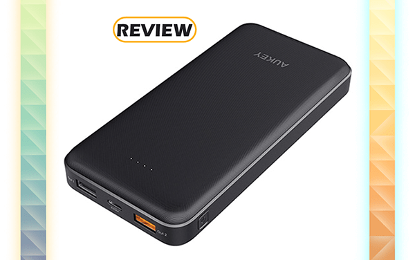 Aukey 20,000mAh Quick Charge 3.0 USB-C Power Bank Review