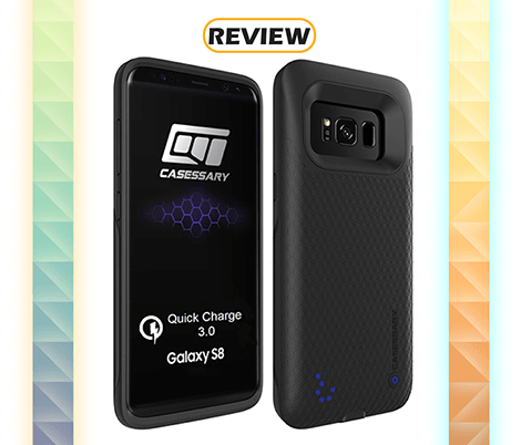 CASESSARY Galaxy S8 4,500mAh Battery Case Review