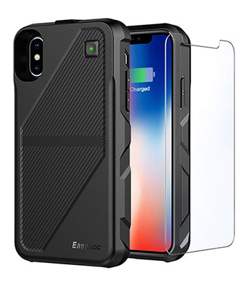 Review Easyacc 5 000mah Wireless Charging Iphone X Battery Case