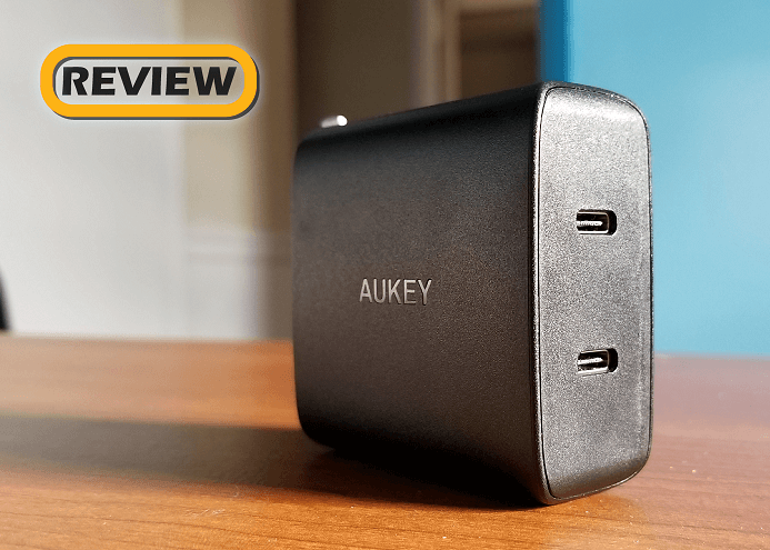 Aukey 2-Port USB-C 36W Power Delivery Wall Charger