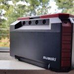 SUAOKI S270 150Wh Portable Power Station with AC Outlets