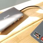 Alxum USB-C 8 in 1 USB-C Adapter with Power Delivery
