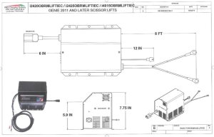Jlg Scissor Lift Battery Wiring Diagram  Wiring Solutions