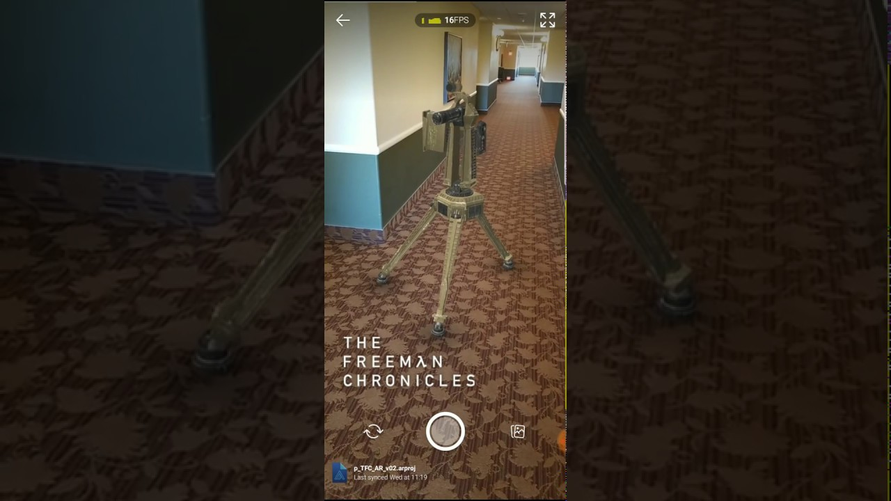 The Freeman Chronicles Augmented Reality Turret