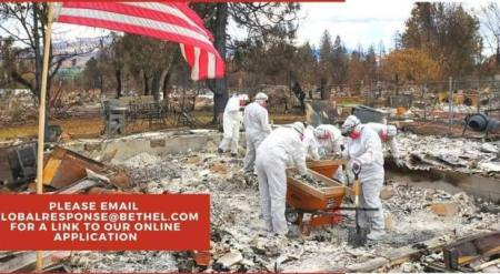 Bethel Global Response Provides Wildfire Relief in Utah, California