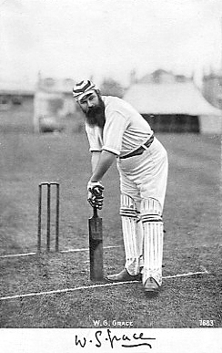 Dr. William Gilbert is also known as W G Grace