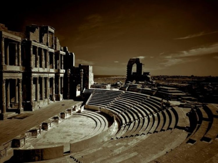 Leptis Magna Roman Ruins of Libya 0