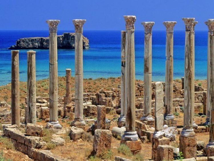 Leptis Magna Roman Ruins of Libya 49