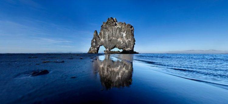 Mysterious Hvitserkur Shaped Rock in the Gulf of Hunafloui 13