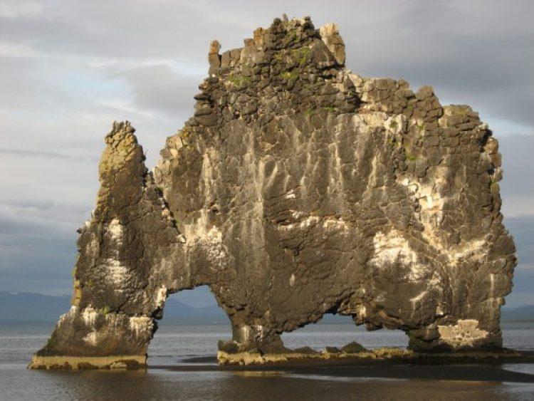 Mysterious Hvitserkur Shaped Rock in the Gulf of Hunafloui 19
