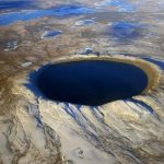 Pingualuit Impact Crater in Canada