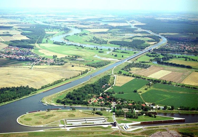 The Incredible Magdeburg Water Bridge in Germany 1