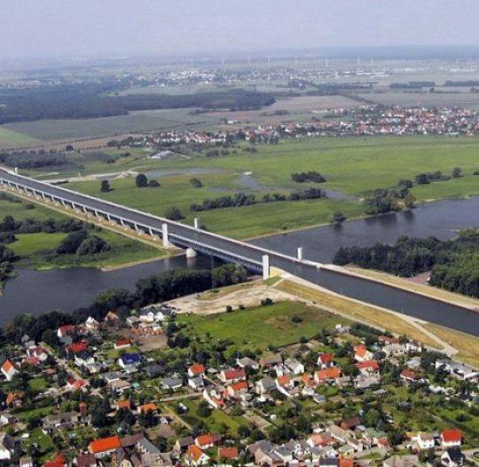 The Incredible Magdeburg Water Bridge in Germany 2