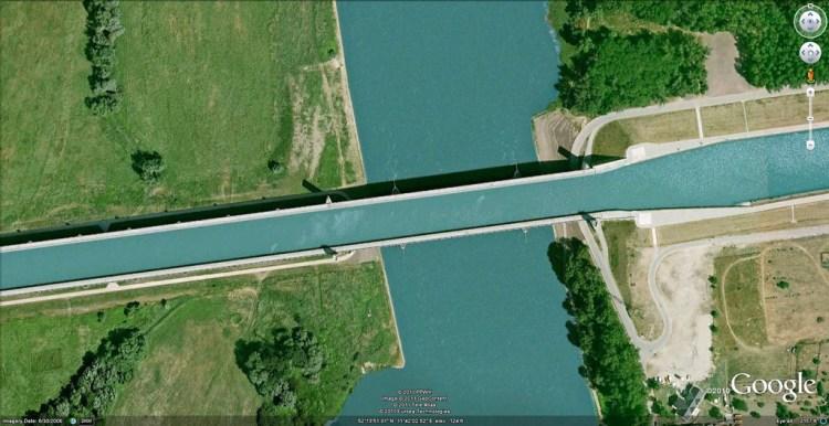 The Incredible Magdeburg Water Bridge in Germany 7