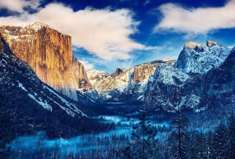 Yosemite valley, California, USA. 000