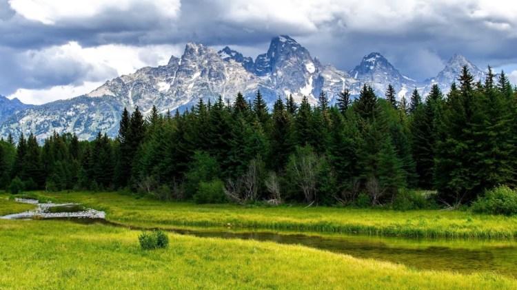 Gr Teton National Park HD Desktop Background