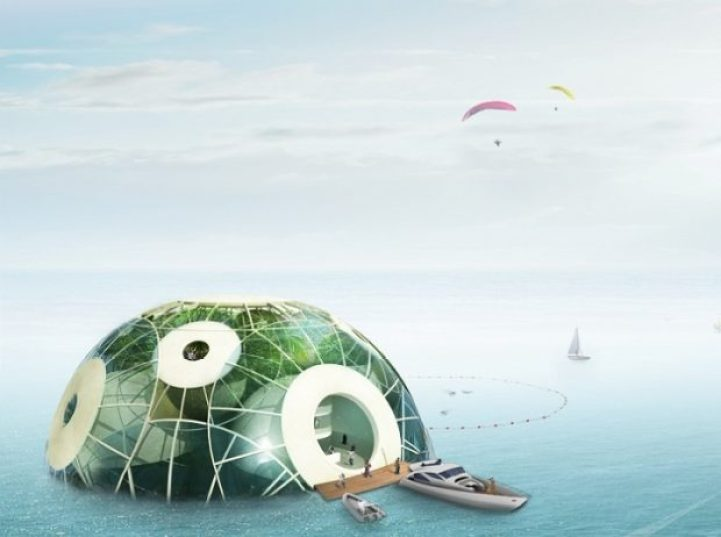 Floating Biodome Absorbs Carbon Dioxide, Emits Oxygen