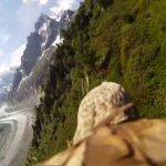 Camera Strapped To Soaring Eagle Provides Captivating Nature View