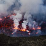 Stunning Image of Lava Lake at Mount Nyiragongo