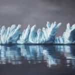 Ultra Realistic Finger-paintings of Icebergs by Zaria Forman