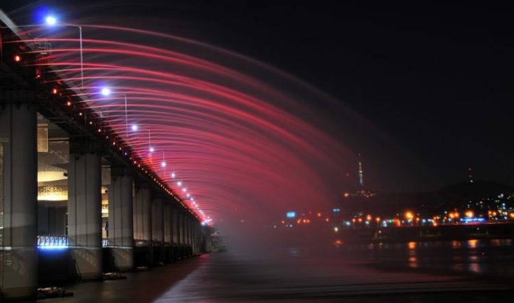 Charismatic Planet Moonlight Rainbow Bridge In Seoul Korea141924
