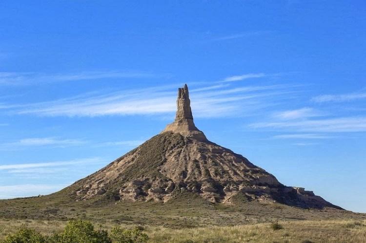 Chimney Rock of Nebraska United States3