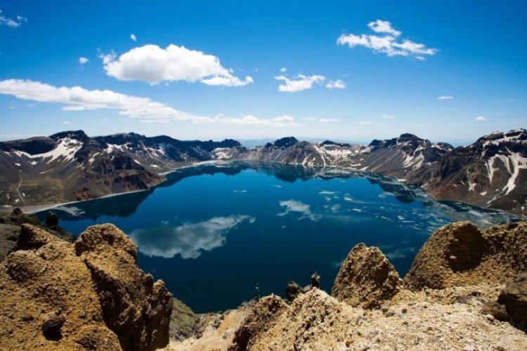 Heaven Lake China North Korea10