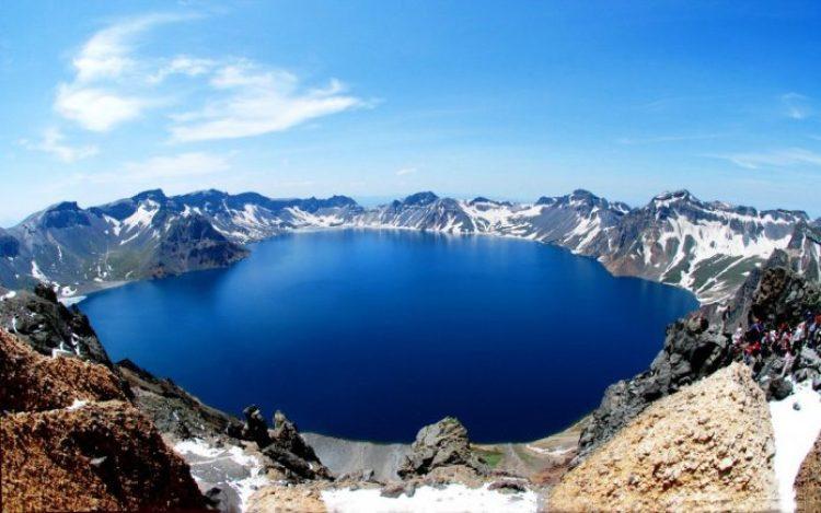 Heaven Lake China North Korea6