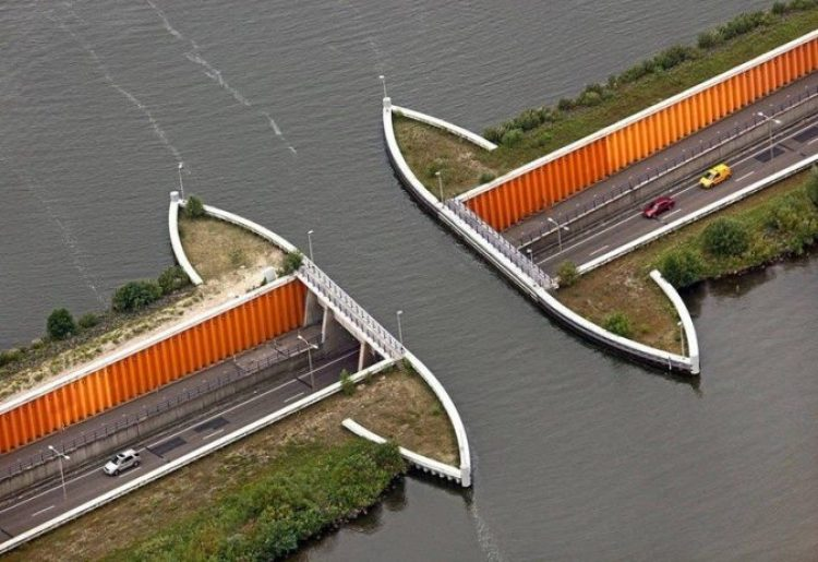 The Aqueduct Veluwemeer Netherlands