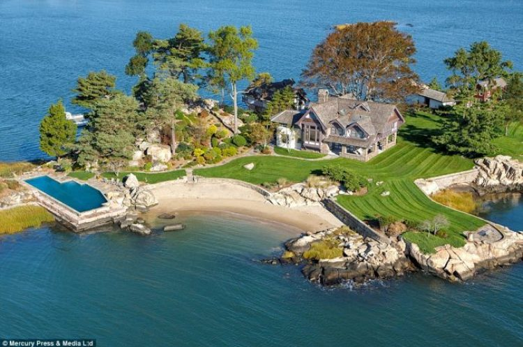 A Luxury Island has gone on the market for $11million
