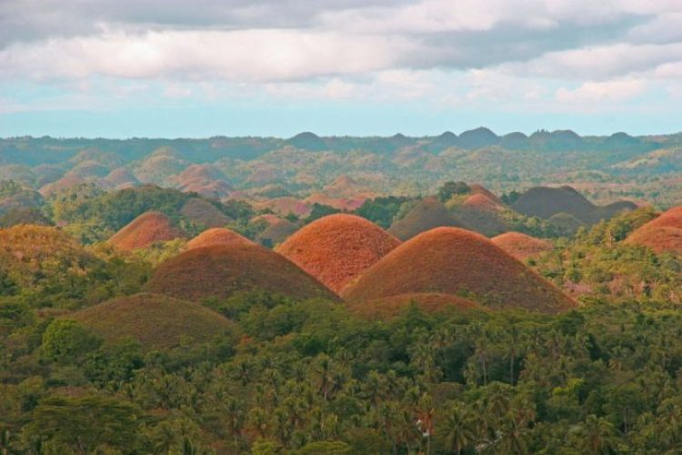 Chocolate Hills, Philippines 03