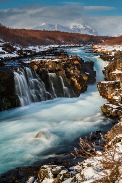 Hlauptungufoss Waterfall