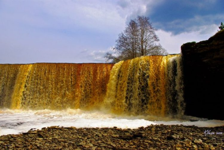 Jagala waterfall Estonia7
