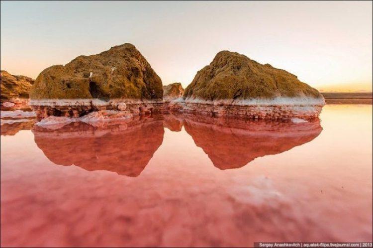 Sivash Salt Lagoons in the Crimean Peninsula6