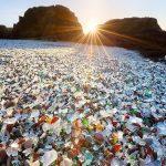 Sparkling Glass Beach of California
