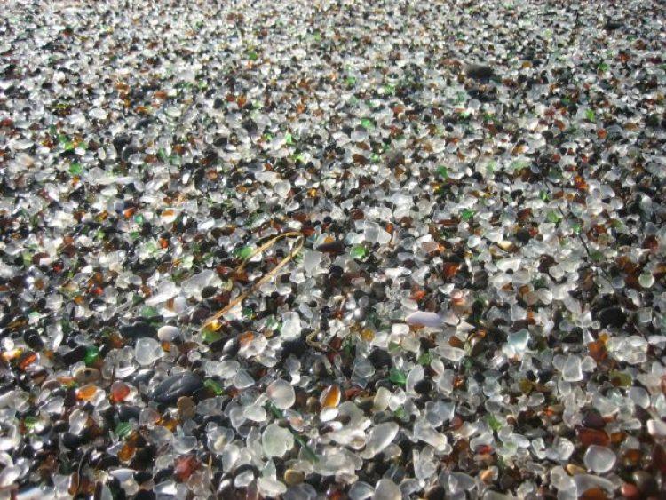 Sparkling Glass Beach of California 12