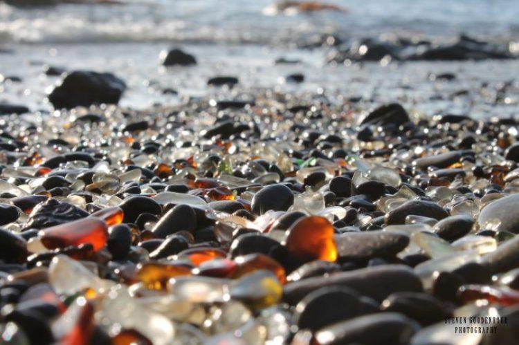 Sparkling Glass Beach of California 17