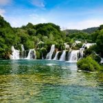 Skradinski Buk Waterfall of Croatia