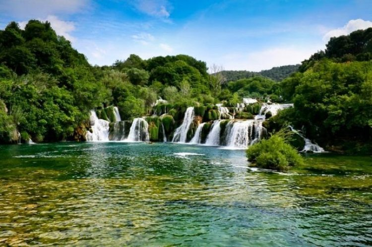 Skradinski buk Waterfall in Croatia4