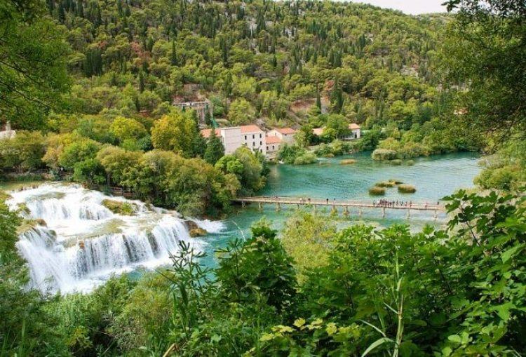 Skradinski buk Waterfall in Croatia5