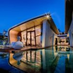 Modern Beach Villas is ideal place to stay actually inspired by the Waves of the Ocean.