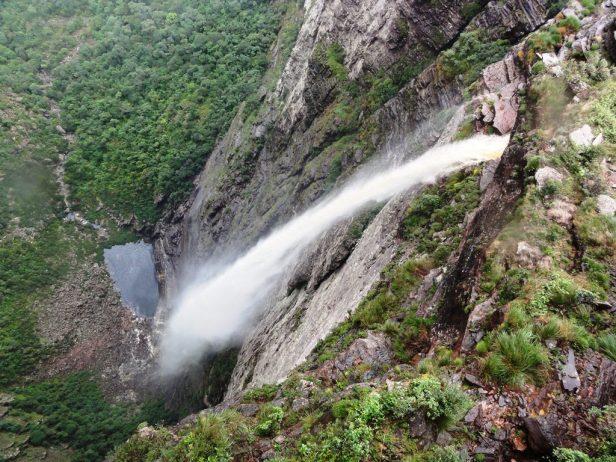 Smoke Falls of (Cachoeira da Fumaca) Bahia Brazil