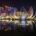 Lotus Exhibition Centre in China
