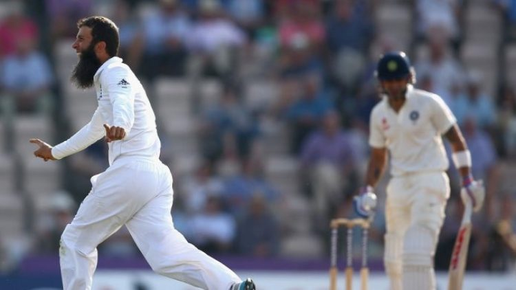 Mooen Ali took five-wicket haul against India in the fourth innings of a home Test © Getty Images