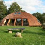 Elegant Dome House Design by Patric Marsili