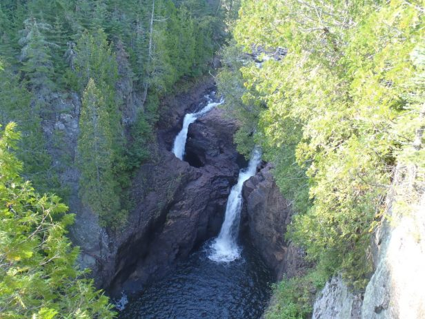 The Mysterious Devil S Kettle Falls