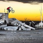 Exclusive Street Trials Rider Performs Unbelievable Gravity-Defying Trick in Abandoned Village